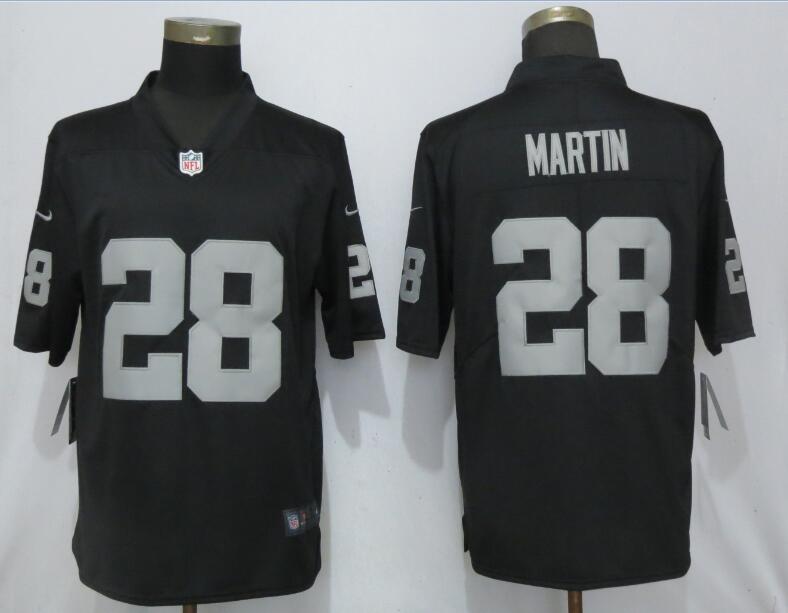 Nike Raiders 28 Doug Martin Black Vapor Untouchable Limited Jersey