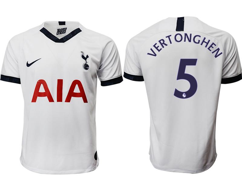 2019-20 Tottenham Hotspur 5 VERTONGHEN Home Thailand Soccer Jersey