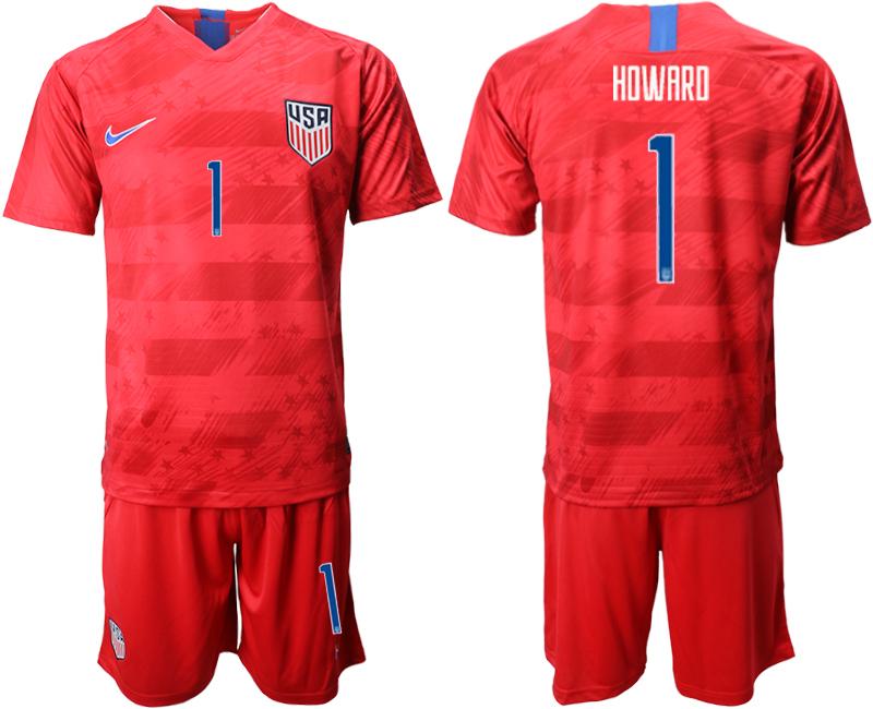 2019-20 USA 1 HDWARD Away Soccer Jersey