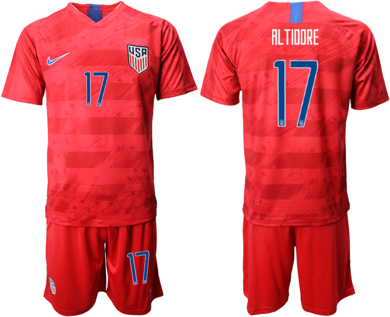 2019-20 USA 17 AL TIIIRE Away Soccer Jersey