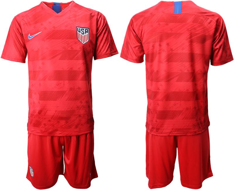 2019-20 USA Away Soccer Jersey