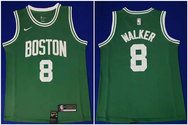 Celtics 8 Kemba Walker Green Swingman Jersey