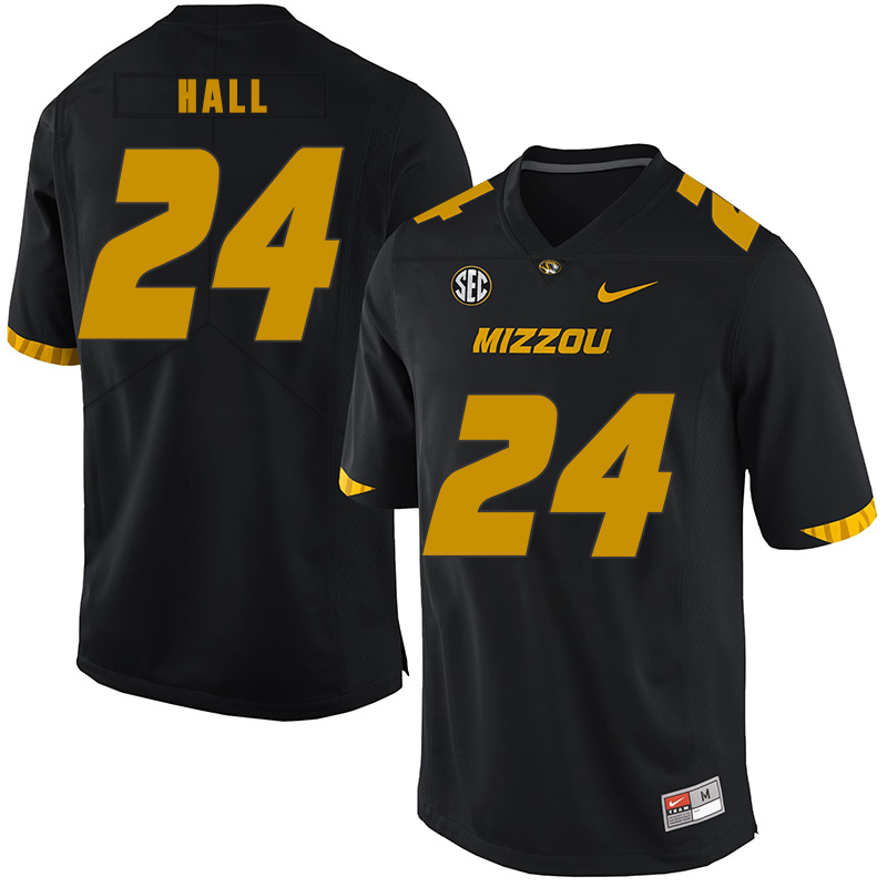 Missouri Tigers 24 Terez Hall Black Nike College Football Jersey