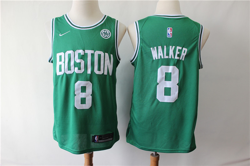 Celtics 8 Kemba Walker Green Nike Swingman Jersey