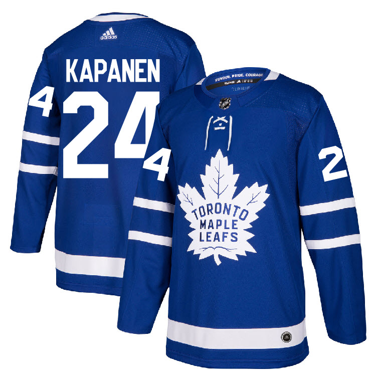 Maple Leafs 24 Kasperi Kapanen Blue Adidas Jersey