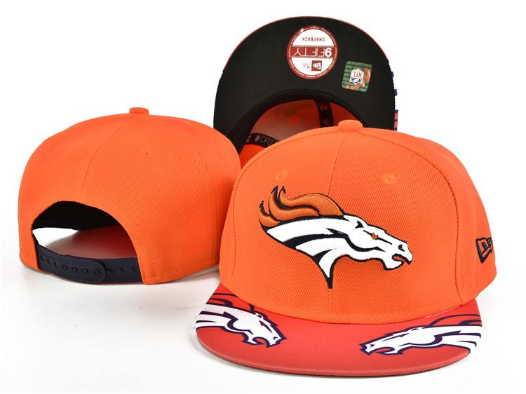 Broncos Fresh Logo Orange Adjustable Hat SF