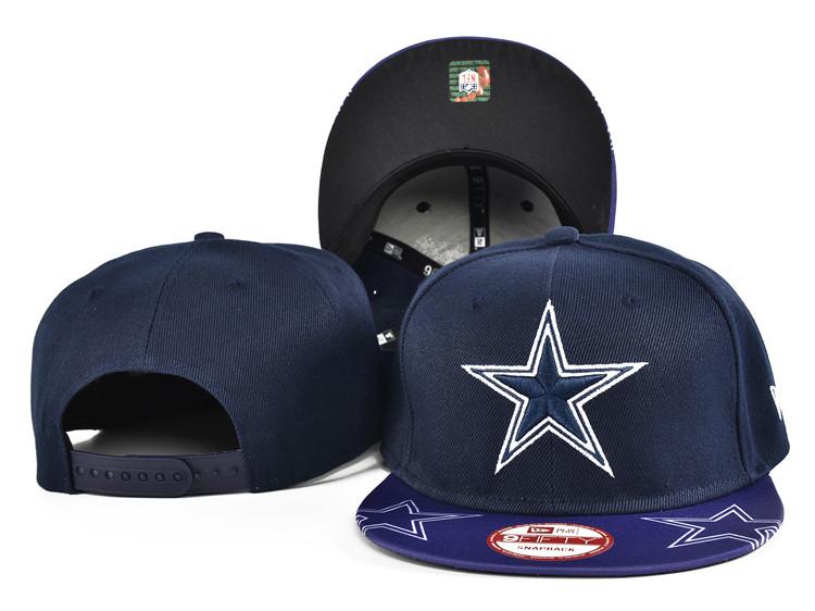 Cowboys Team Logo Navy Adjustable Hat SF
