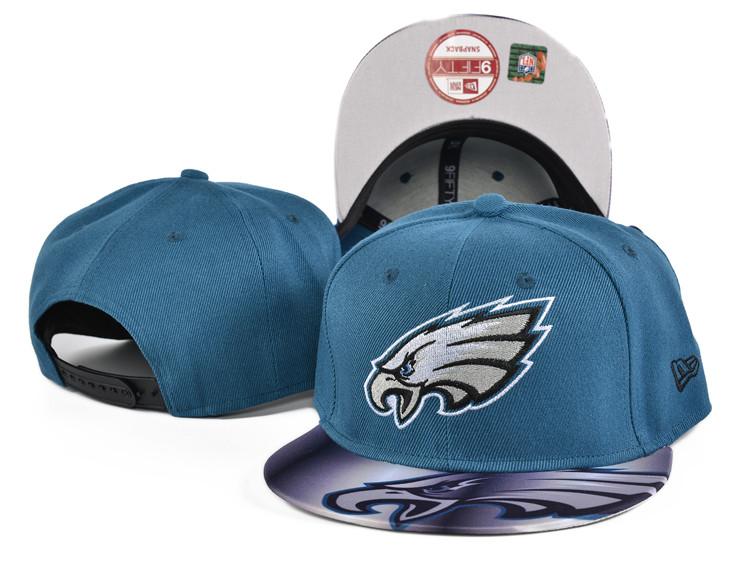 Eagles Team Logo Blue Adjustable Hat SF