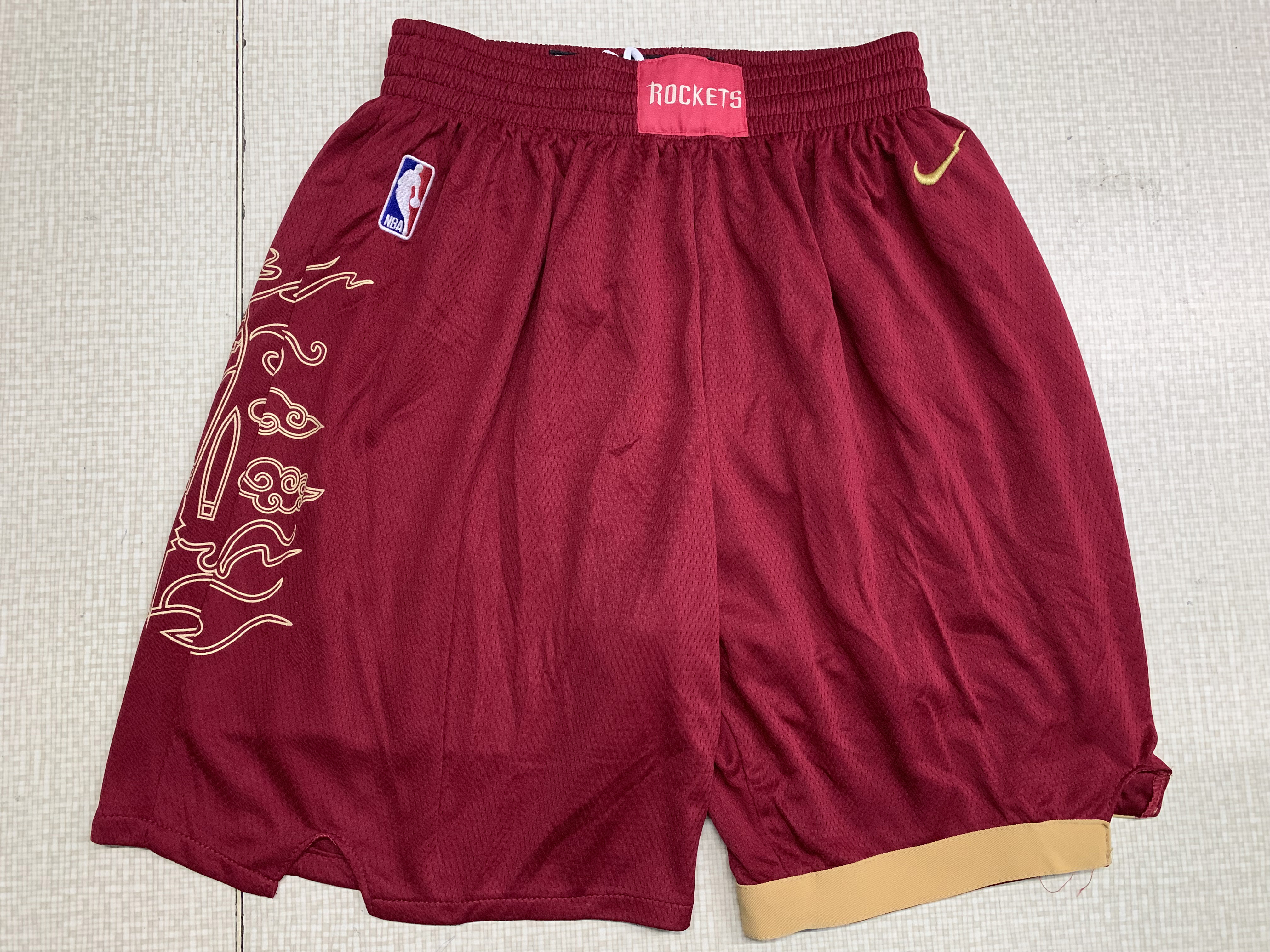Raptors Red City Edition Nike Swingman Shorts