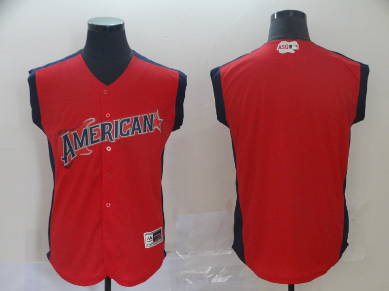 American League Red 2019 MLB All-Star Workout Team Jersey