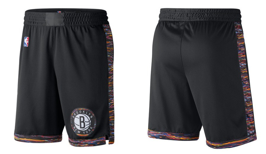 Nets Black City Edition Shorts