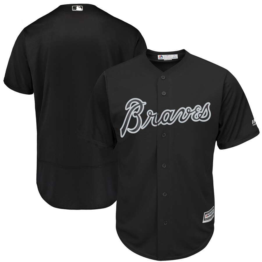 Braves Blank Black 2019 Players' Weekend Authentic Player Jersey