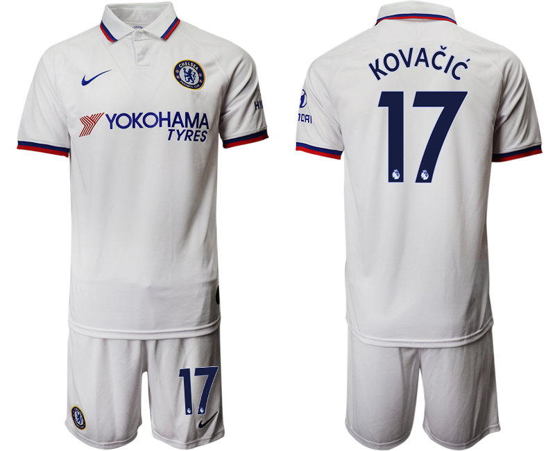 2019-20 Chelsea 17 KOVACIC Away Soccer Jersey