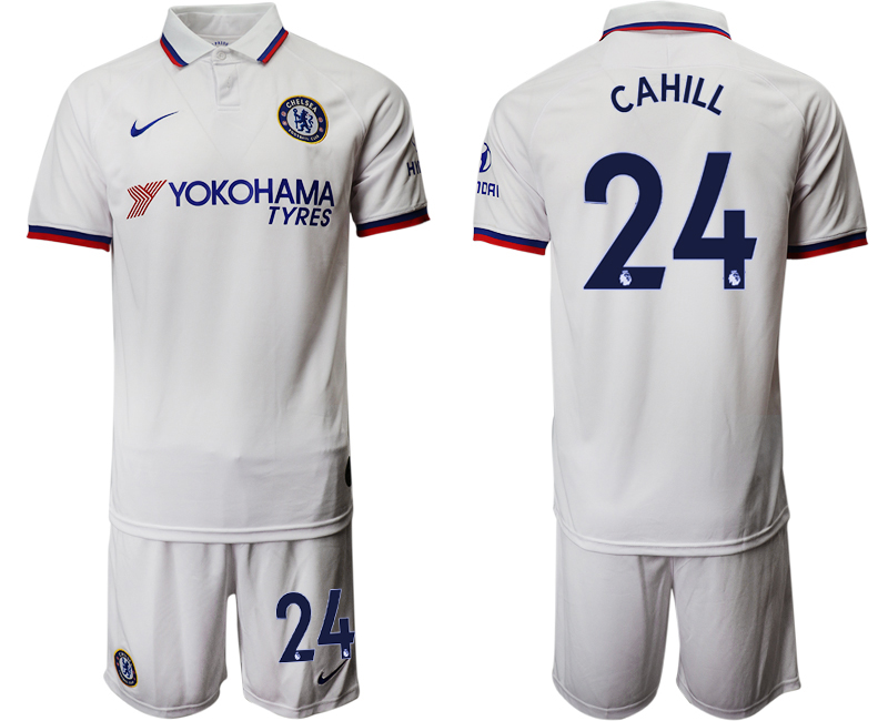 2019-20 Chelsea 24 CAHILL Away Soccer Jersey