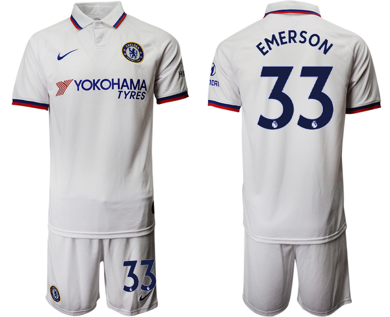 2019-20 Chelsea 33 EMERSON Away Soccer Jersey