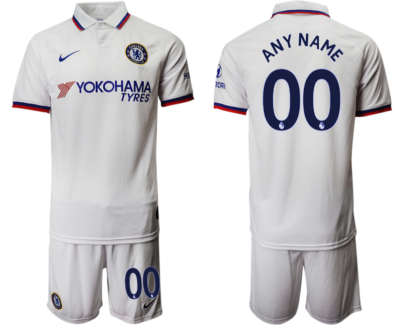 2019-20 Chelsea Customized Away Soccer Jersey