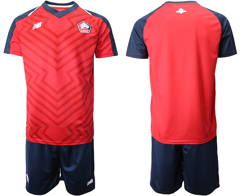 2019-20 Lille OSC Home Soccer Jersey