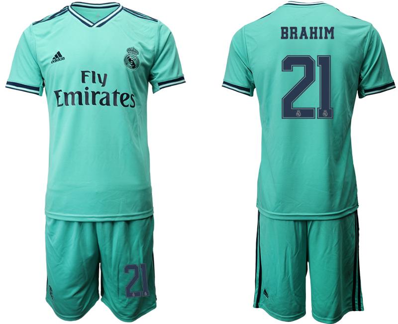2019-20 Real Madrid 21 BRAHIM Third Away Soccer Jersey