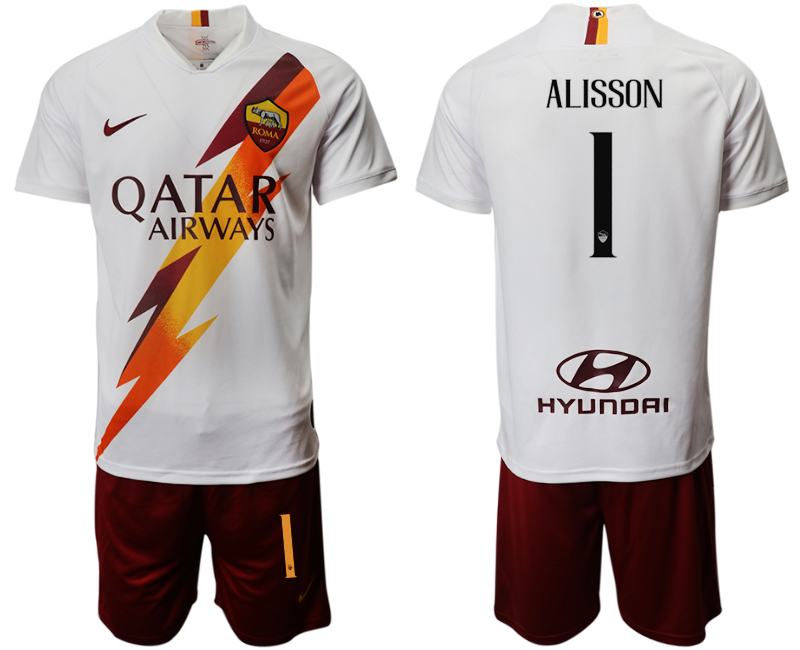 2019-20 Roma 1 LISSON Away Soccer Jersey