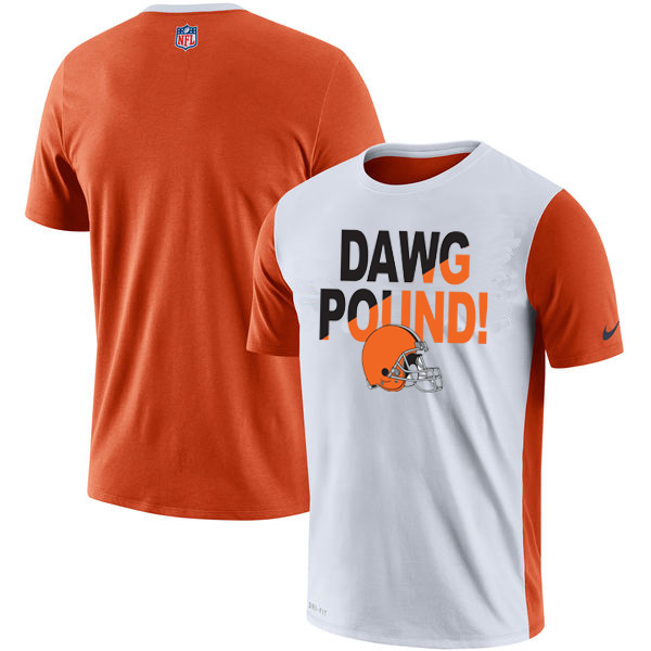Cleveland Browns Nike Performance T Shirt White