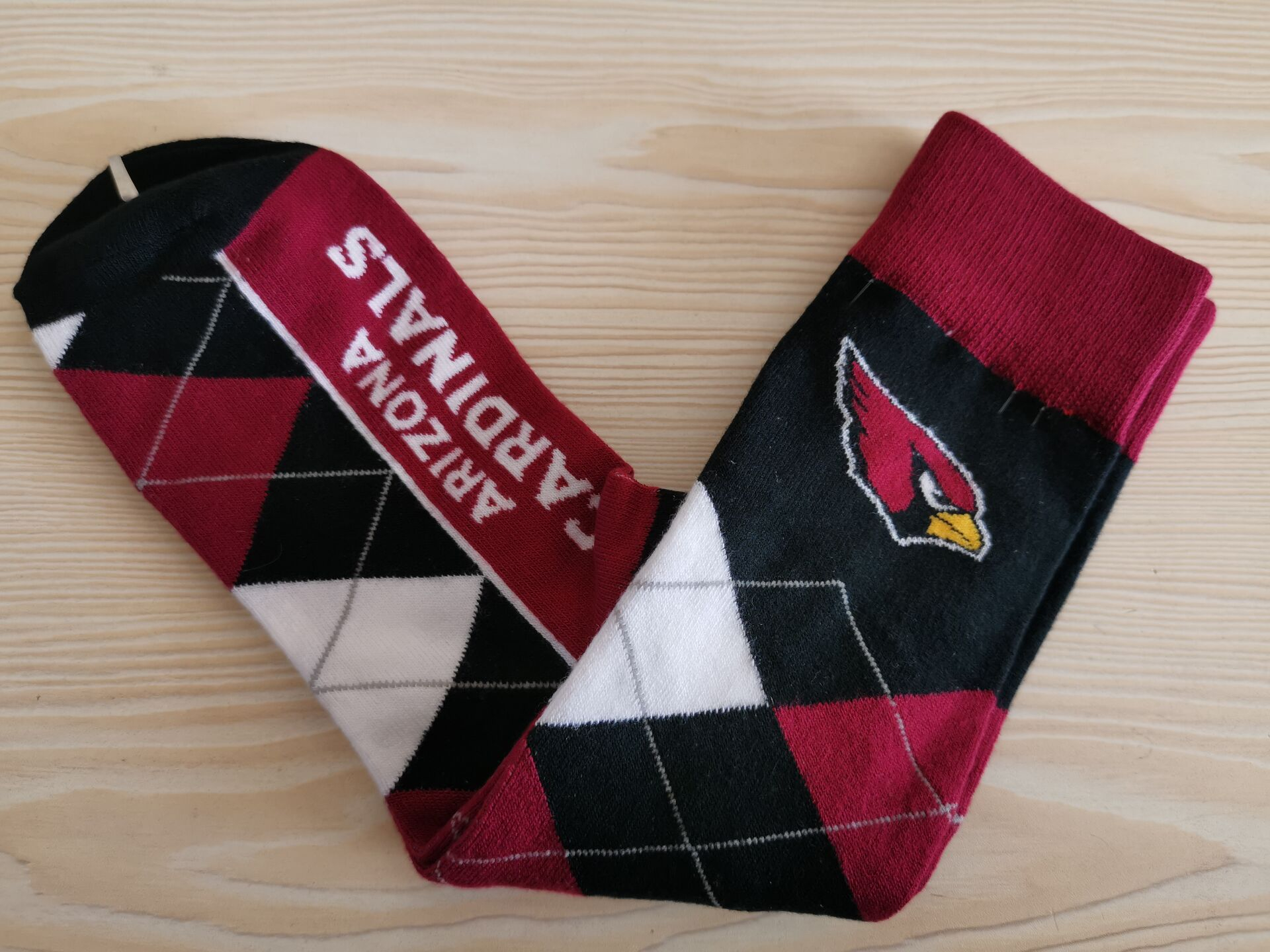 Arizona Cardinals Team Logo NFL Socks