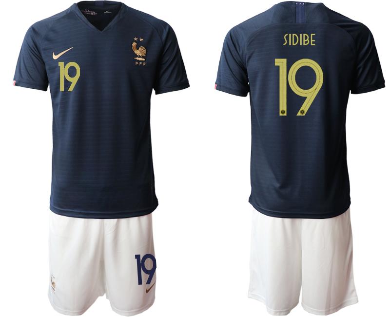2019-20 France 19 SIDIBE Home Soccer Jersey