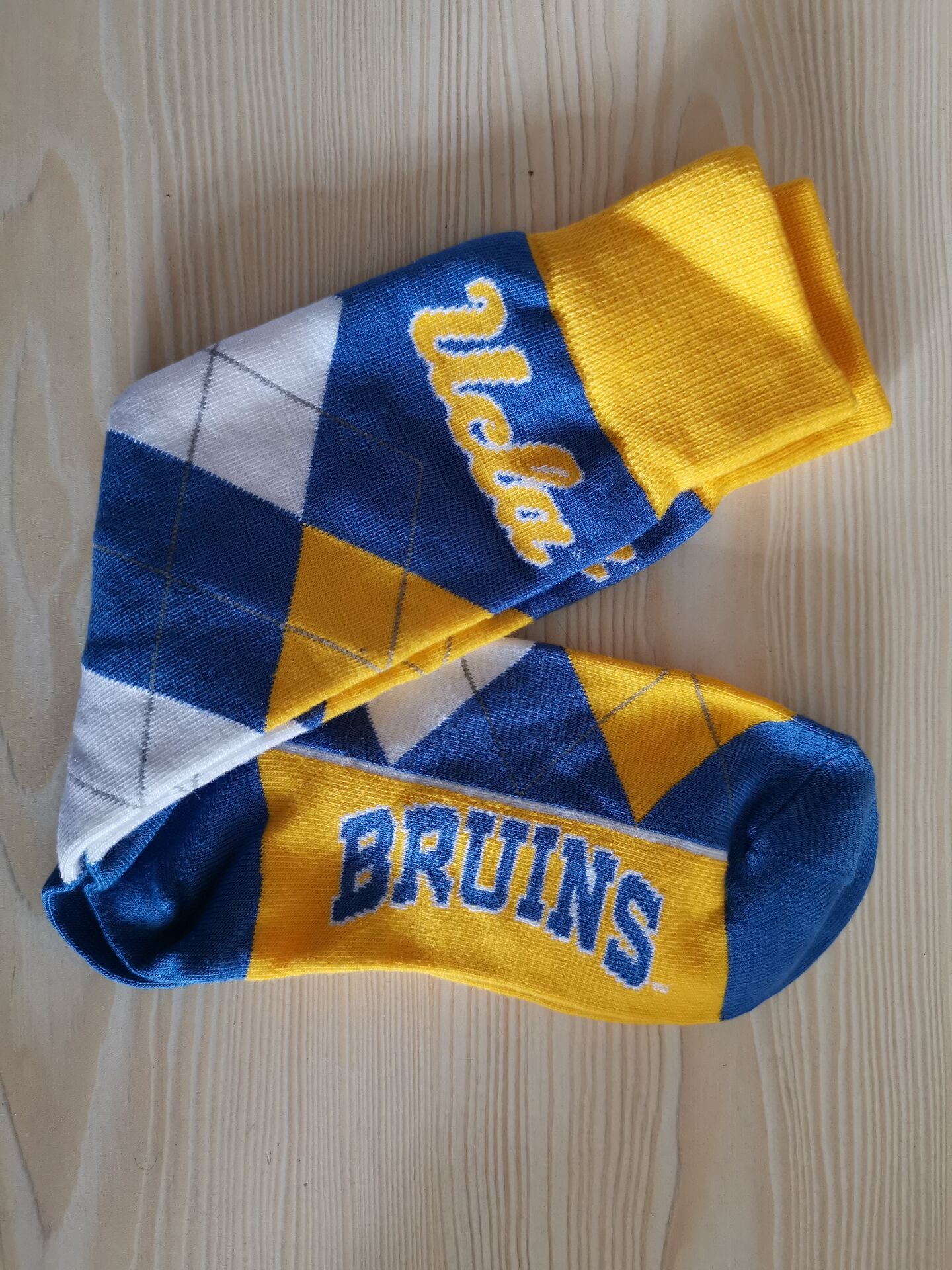 UCLA Bruins Team Logo NCAA Socks