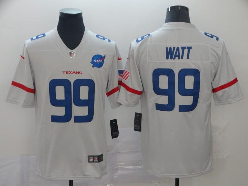 Nike Texans 99 J.J. Watt White City Edition Vapor Untouchable Limited Jersey