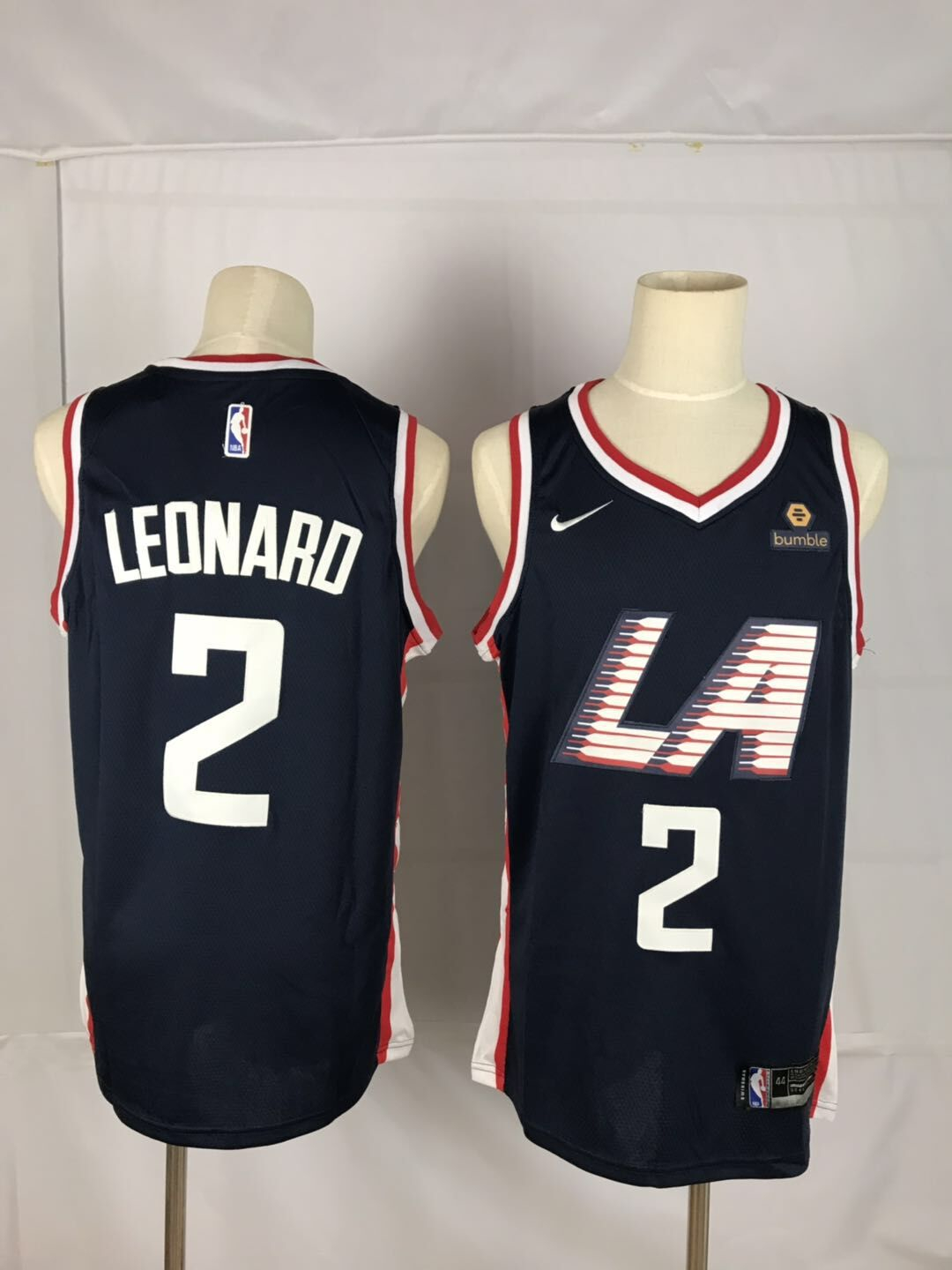 Clippers 2 Kawhi Leonard Black City Edition Nike Swingman Jersey