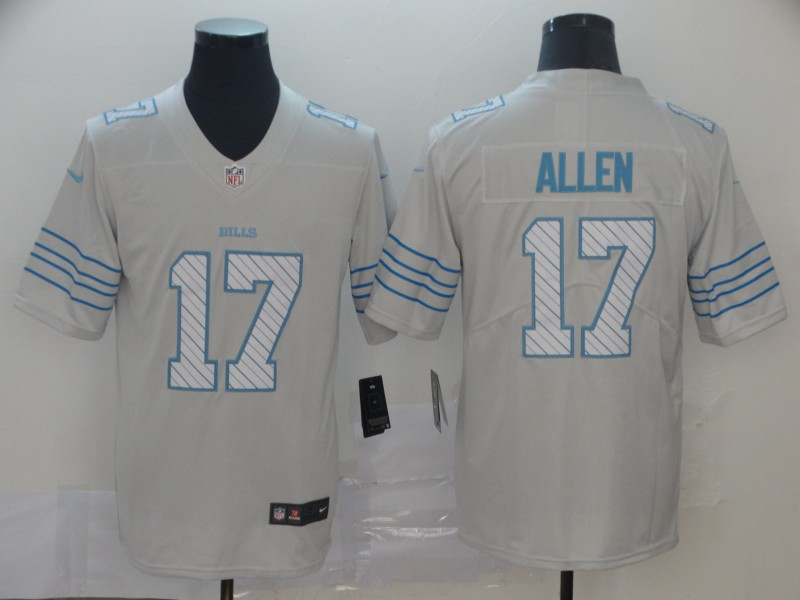 Nike Bills 17 Josh Allen White City Edition Vapor Untouchable Limited Jersey