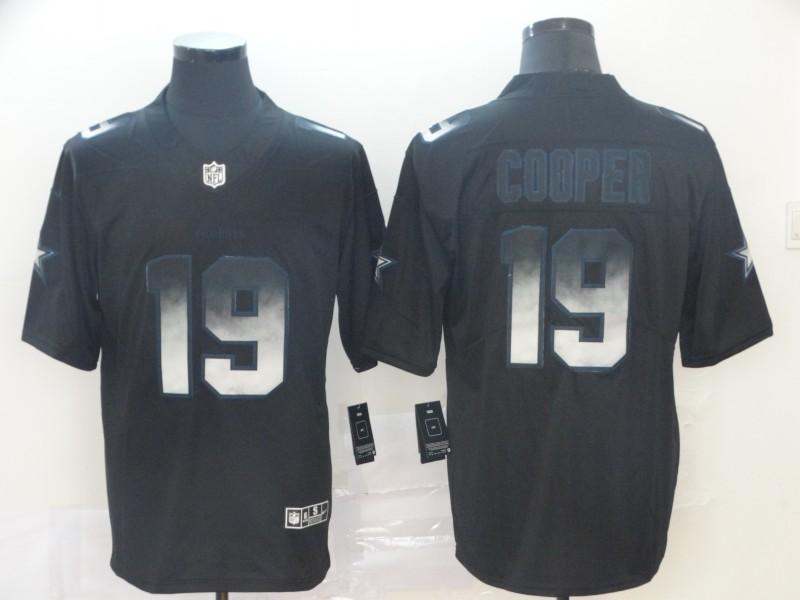 Nike Cowboys 19 Amari Cooper Black Arch Smoke Vapor Untouchable Limited Jersey