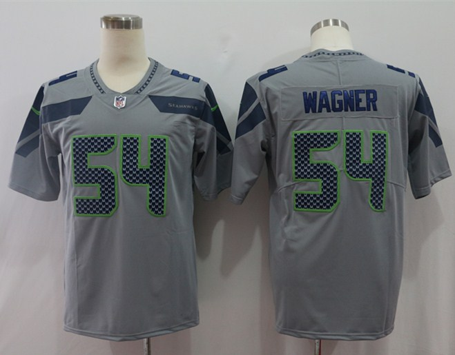 Nike Seahawks 54 Bobby Wagner Gary Vapor Untouchable Player Limited Jersey