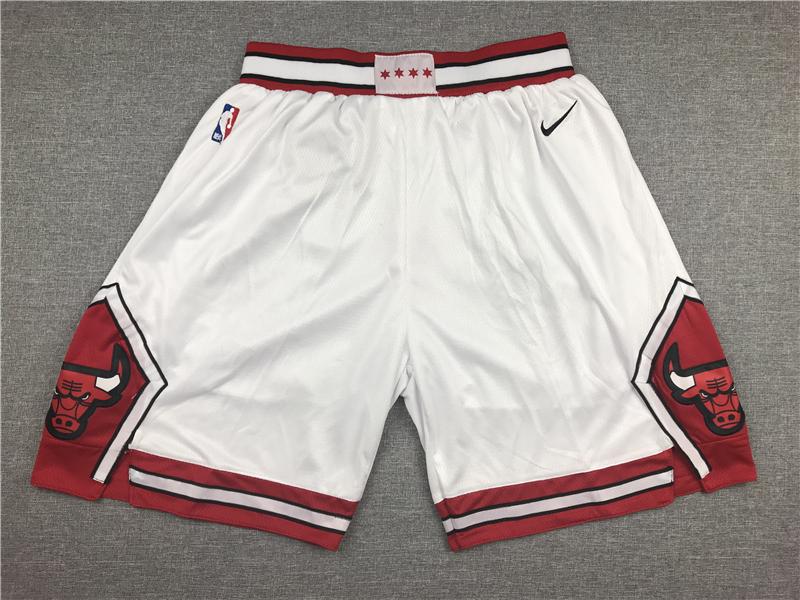 Bulls White Nike Shorts