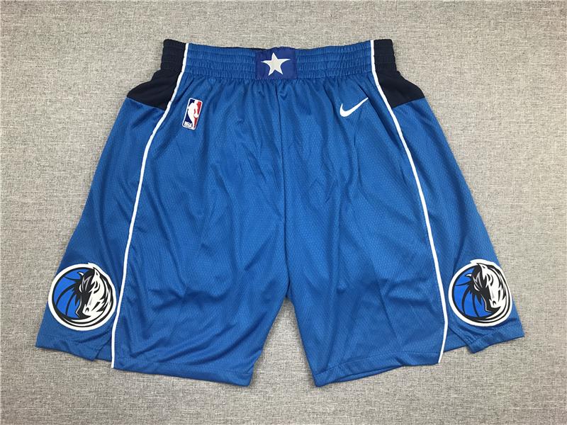 Mavericks Blue Nike Shorts