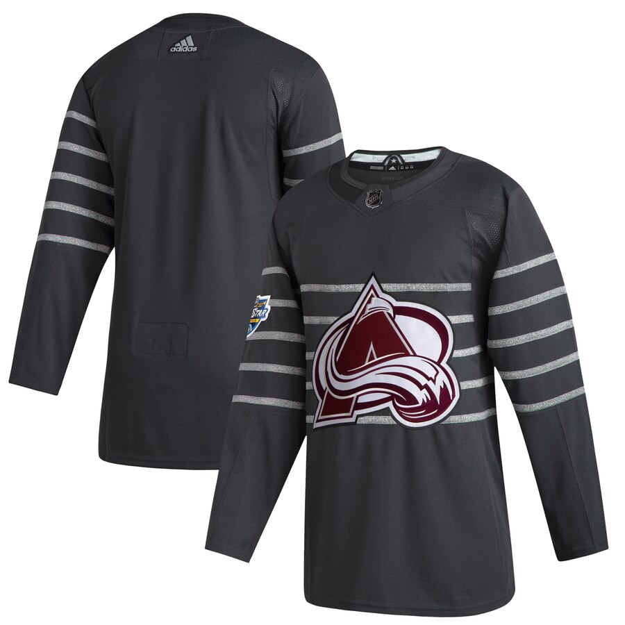 Avalanche Blank Gray 2020 NHL All-Star Game Adidas Jersey