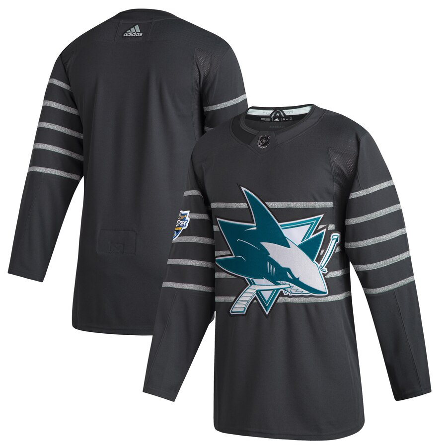 Sharks Blank Gray 2020 NHL All-Star Game Adidas Jersey