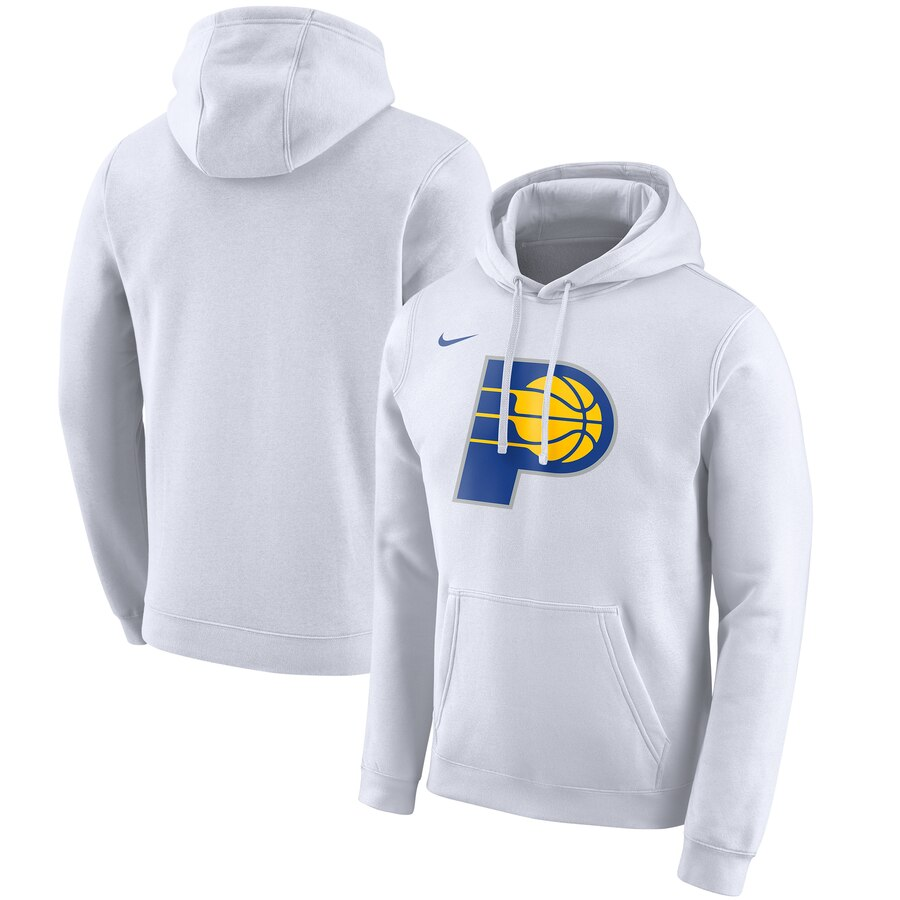 Indiana Pacers Nike 2019-20 City Edition Club Pullover Hoodie White