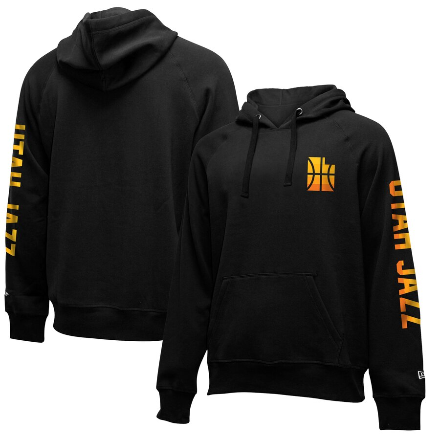 Utah Jazz New Era 2019-20 City Edition Pullover Hoodie Black