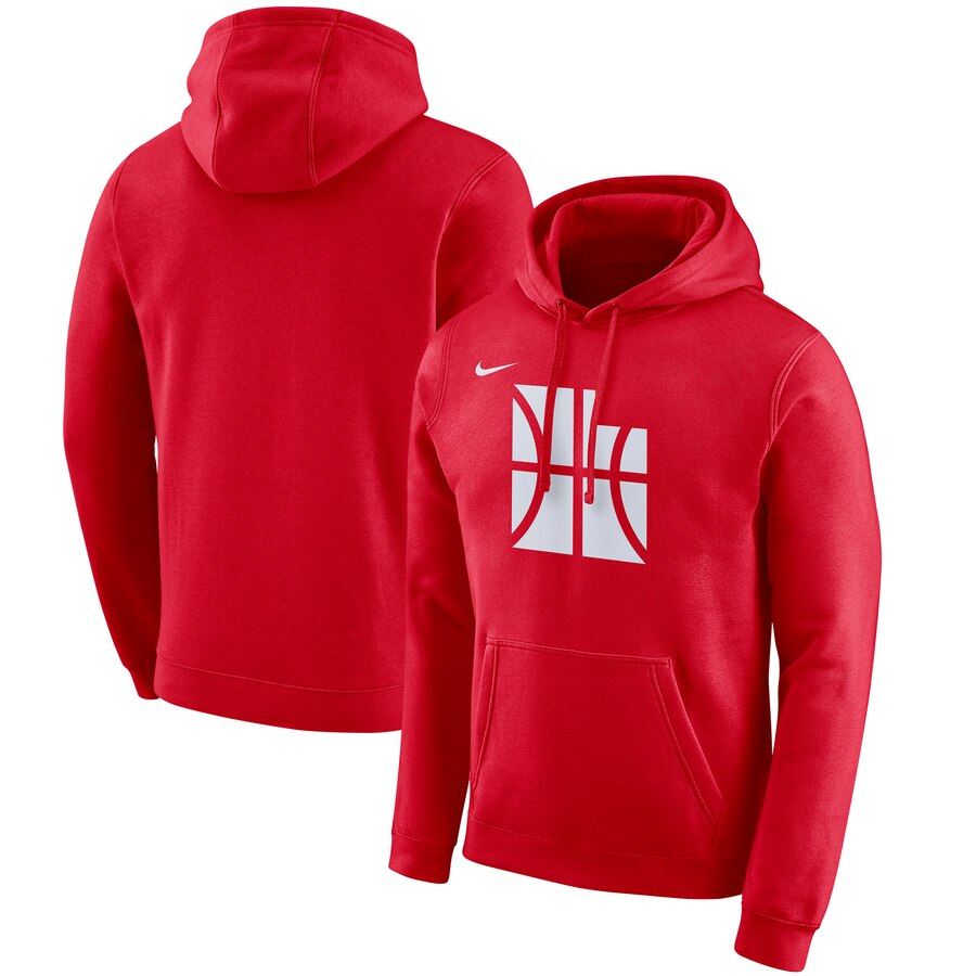 Utah Jazz Nike 2019-20 City Edition Club Pullover Hoodie Red
