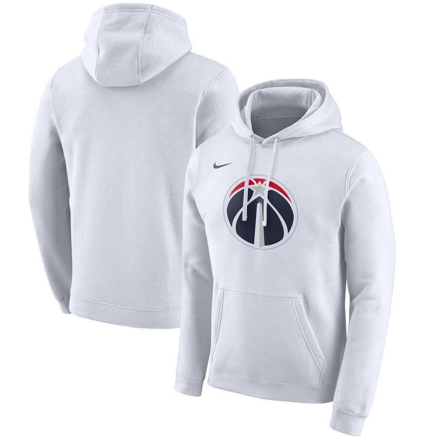 Washington Wizards Nike 2019-20 City Edition Club Pullover Hoodie White