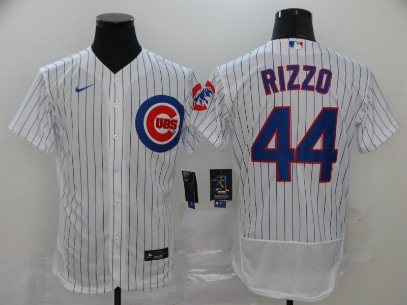 Cubs 44 Anthony Rizzo White 2020 Nike Flexbase Jersey