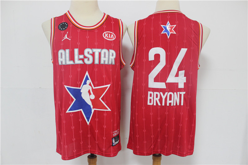 Lakers 24 Kobe Bryant Red 2020 NBA All-Star Jordan Brand Swingman Jerseys