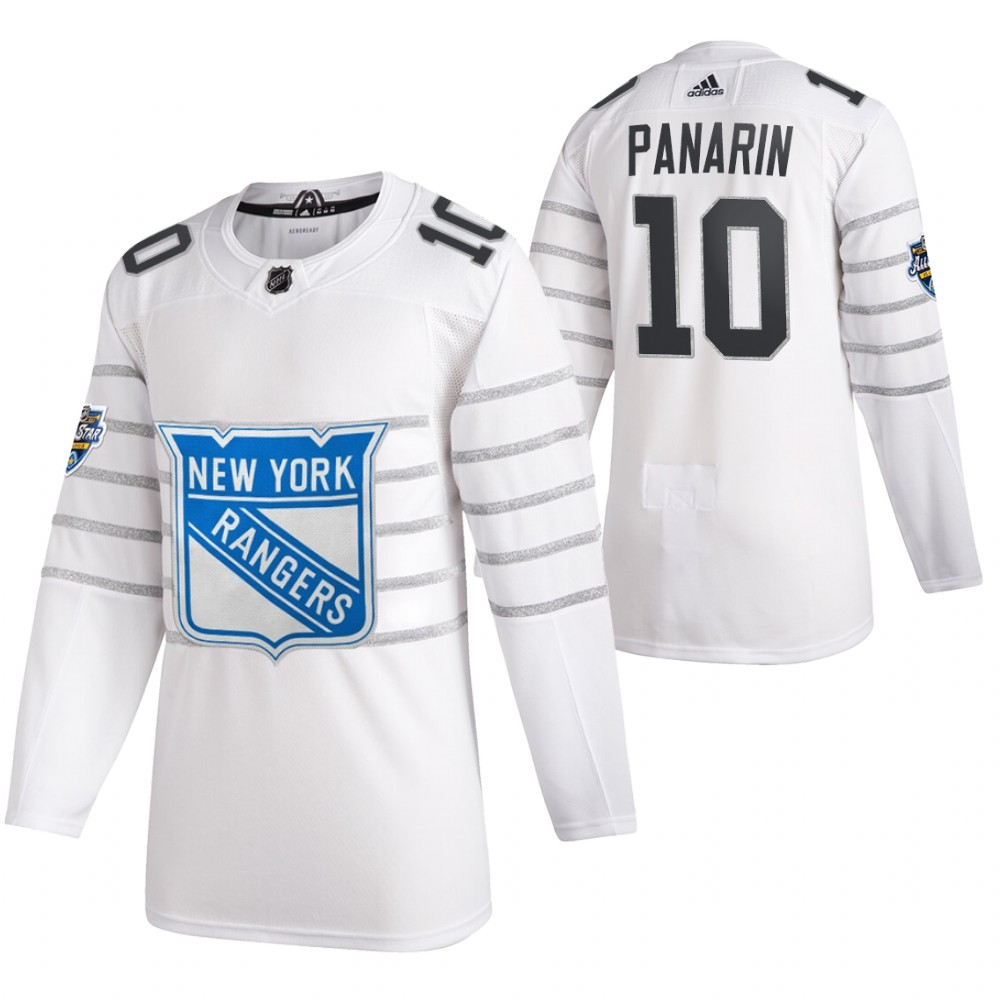 Rangers 10 Artemi Panarin White 2020 NHL All-Star Game Adidas Jersey