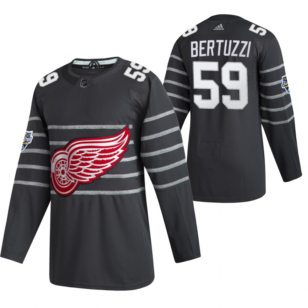 Red Wings 59 Tyler Bertuzzi Gray 2020 NHL All-Star Game Adidas Jersey