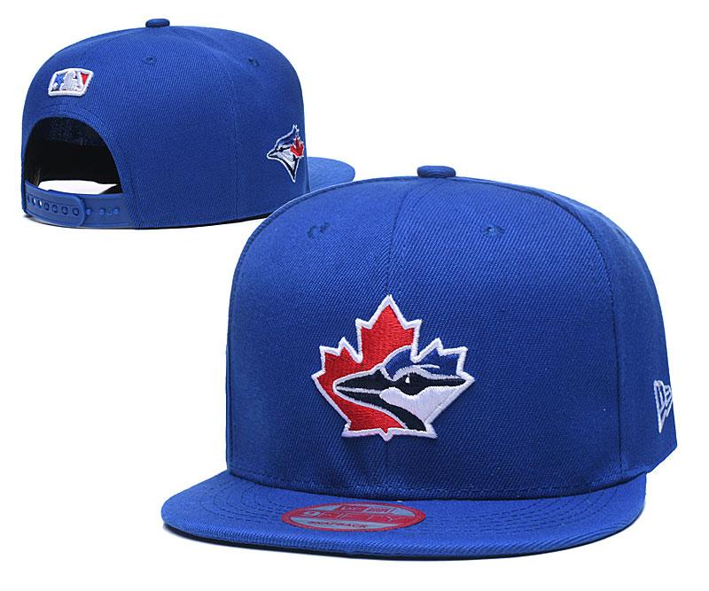 Blue Jays Team Logo Royal Adjustable Hat LT