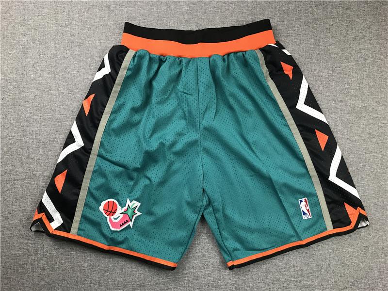 1996 All-Star Green Just Don Shorts