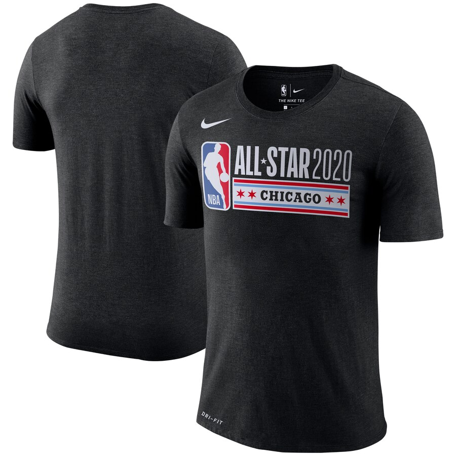 Nike 2020 NBA All-Star Game Primary Logo T-Shirt Black