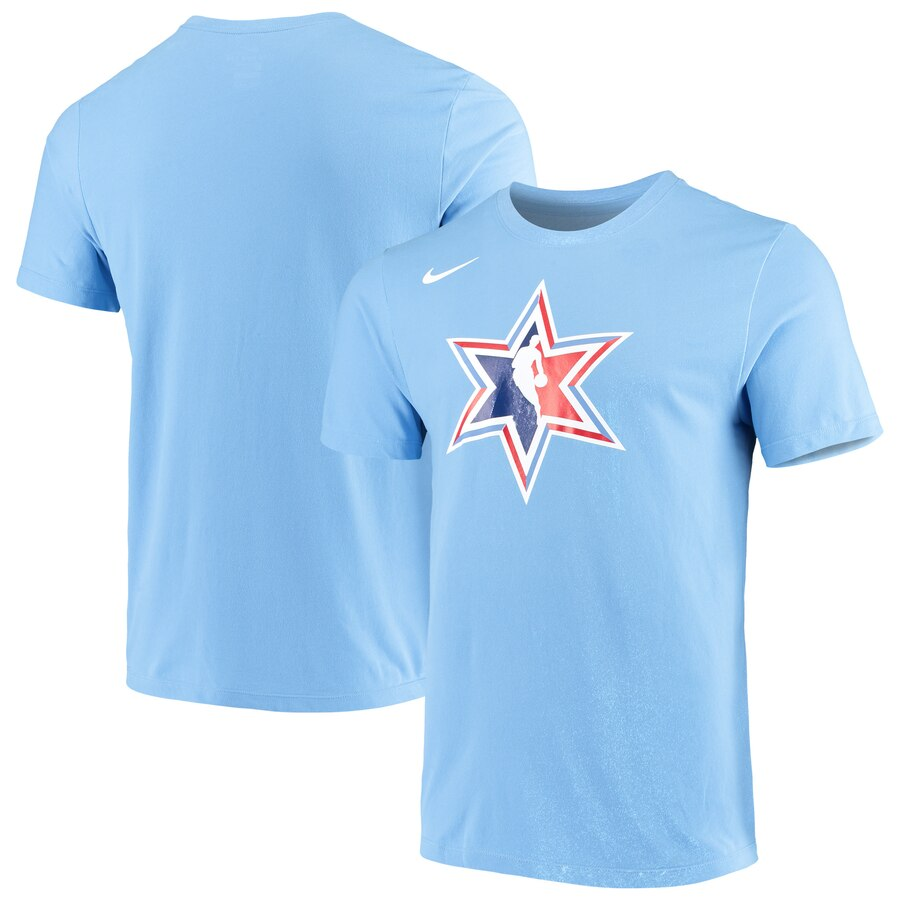Nike 2020 NBA All-Star Game Secondary Logo T-Shirt Blue