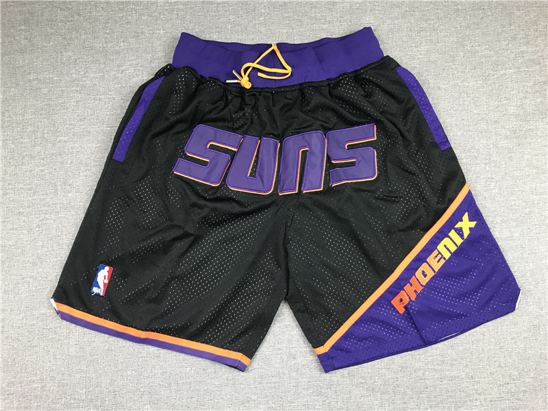 Suns Black Just Don With Pocket Swingman Shorts