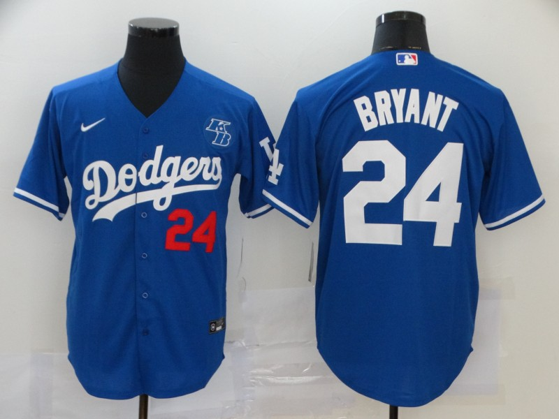 Dodgers 24 Kobe Bryant Royal 2020 Nike KB Cool Base Jersey